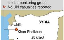 Conflict in Syria. More than 12,000 people have died in 15 months of fighting. Graphic: SAPA.