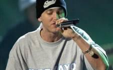 FILE: US rapper Eminem. Picture: AFP
