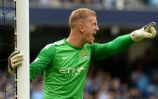 Manchester City goalkeeper Joe Hart. Picture: Manchester City official Facebook page.
