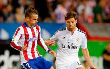 New Bayern Munich signing Xabi Alonso (R) in action for Real Madrid against Atletico Madrid. Picture: Facebook.com