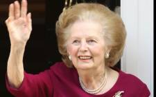 FILE: Britain's former Prime Minister Margaret Thatcher died at the age of 87 on 8 April, 2013. Picture: AFP.