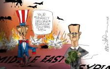 Uncle Sam and Syria's chemical weapons.