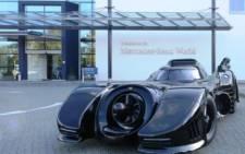 A fully road-legal replica of the Batmobile from Tim Burton's 1989 classic 'Batman'. Picture: www.historics.co.uk.