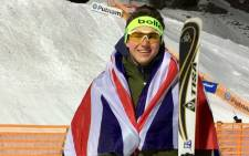 British aerial skier Lloyd Wallace. Picture: Twitter/@Lloyd_Wallace
