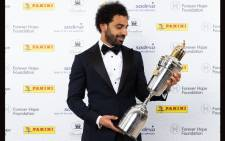 Liverpool forward Mohamed Salah is named Player of the Year by England's Professional Footballers' Association (PFA). Picture: @22mosalah/Twitter
