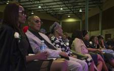 Family and friends paid tribute to the late Robbie Malinga at a memorial service at the Grace Bible Church in Soweto. Picture: Ihsaan Haffejee/EWN.
