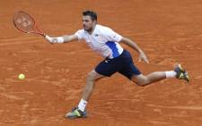 FILE: Wawrinka beat his celebrated rival Roger Federer 6-4 6-3 7-6(4) for the first time in a grand slam. Picture: AFP.