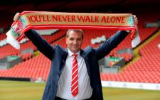 Liverpool coach Brendan Rodgers. Picture: AFP