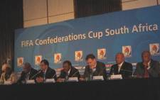 Press Conference on FIFA Confederations Cup 2009 and also the ongoing preparations for the 2010 FIFA World Cup by the Board of Directors of the 2010 FIFA World Cup Organising Committee South Africa (OC), Dr. Irvin Khoza, Chairman of the 2010 OC, Dr. Danny