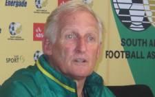 Bafana Bafana coach Gordon Igesund. Picture: Alicia Pillay/EWN