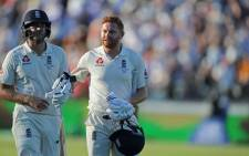 England's Dawid Malan and Jonny Bairstow pictured during the Ashes series on 15 December 2017. Picture: @englandcricket/Twitter
