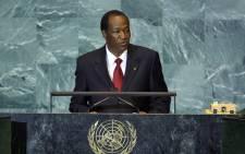 Former president of Burkina Faso Blaise Compaoré. Picture: UN Photo.