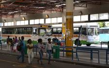 FILE: Golden Arrow buses parked at the terminus in the Cape Town CBD. Picture: EWN.