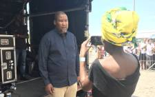 "Zwelivelile ""Mandla"" Mandela speaks ahead of the Mandela centennial celebrations in Cape Town on 11 February 2018. Picture: Monique Mortlock/EWN"