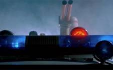 Original Ghostbusters Vehicle headlight screengrab .Picutre: screengrab/CNN