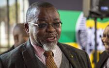 ANC secretary-general Gwede Mantashe briefs members of the media on the programme of the ANC National Policy Conference at Nasrec. Picture: Thomas Holder/EWN
