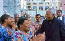 Ladysmith Black Mambazo has dedicated their latest Grammy win to former president Nelson Mandela. Picture: Facebook.com.