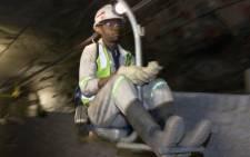 FILE: Underground at Glencore's Kroondal chrome mine in South Africa. Picture: glencore.com.