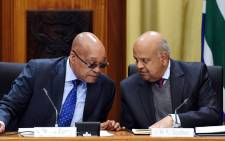 FILE: President Jacob Zuma and Finance Minister Pravin Gordhan. Picture: GCIS.