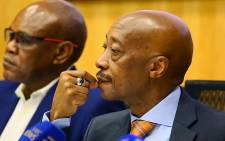 FILE: Suspended South African Revenue Service Commissioner Tom Moyane on 18 September 2017. Picture: Sethembiso Zulu/EWN