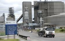Anglo's platinum output slumped, hit by a strike at its South African operations. Picture: AFP.