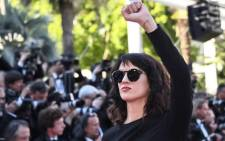 Italian actress Asia Argento at the Cannes Film Festival. Picture: @AsiaArgento/Twitter.