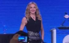 FILE: Madonna.  Picture: CNN.