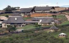 FILE: President Jacob Zuma's homestead in Nkandla in KwaZulu-Natal. Picture: EWN