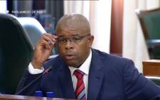 Former CEO of Passenger Rail Agency of South Africa (PRASA) Lucky Montana. Picture: YouTube screengrab