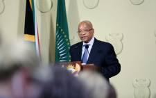 President Jacob Zuma. Picture: Reinart Toerien/EWN.