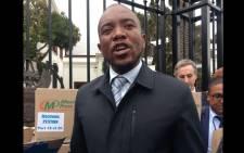 DA leader Mmusi Maimane. Picture: Gaye Davis/EWN