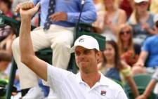 Sam Querrey booked his place in the last 16 at Wimbledon after beating 12th seed Jo-Wilfried Tsonga. Picture: Facebook.com.