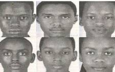 This undated handout photo obtained courtesy of the DC Police Department in shows the six members of a Burundi robotics team competing in an international competition in Washington have been reported missing, police said 20 July 2017. US police say two members have been found. Picture: AFP