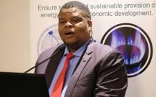 Energy Minister David Mahlobo. Picture: @Energy_ZA/Twitter