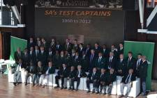 42 Springbok captains gathered at the V&A Waterfront on 27 March 2013. Picture: Aletta Gardner/EWN