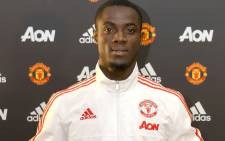 Eric Bailly after signing four-year deal with Manchester United on 8 June 2016. Picture: Manchester United official Twitter: @ManUtd