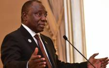 President Cyril Ramaphosa. Picture: @SAgovnews/Twitter