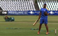 The Nashua Cape Cobras train at Newlands on 9 December 2014 ahead of their Ram Slam final against the Chevrolet Knights. Picture: EWN