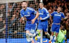 Chelsea's John Terry celebrates after scoring against Southampton on 1 December 2013. Picture: Facebook.