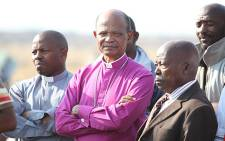 The South African Council of Churches Bishop Jo Seoka (C). Picture: Taurai Maduna/EWN
