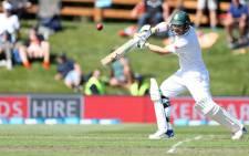 Proteas batsman Dean Elgar in full flow. Picture: @OfficialCSA/Twitter