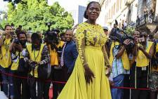 FILE: Public Protector Advocate Thuli Madonsela on the red carpet at Parliament ahead of President Jacob Zuma's 2016 State of the Nation address. Picture: Aletta Harrison/ EWN.