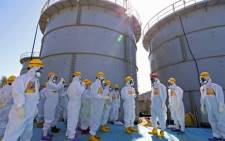 FILE: Fukushima power plant in Japan. Picture: AFP.