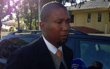 Chief Mandla Mandela thanked South Africans for praying for his grandfather on 12 June 2013. Picture: Lesego Ngobeni/EWN