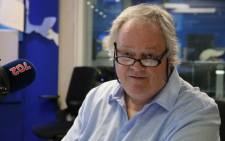 'The President's Keepers' author Jacques Pauw in studio with Radio 702 host Eusebius McKaiser. Picture: Radio 702