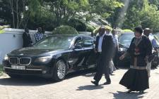 ANC President Cyril Ramaphosa arrives for a meeting with Kenyan President Uhuru Kenyatta in Durban on 12 January 2018. Picture: EWN
