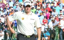 Lee Westwood, winner of the 2010 NedBank Golf challenge. Picture: Ntswe Mokoena/GCIS