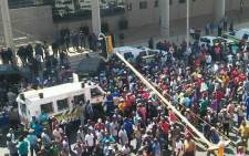 Taxi operators have handed over a memorandum of demands to the City of Tshwane officials. Picture: Intelligence Bureau SA on Facebook.