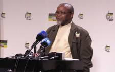 ANC Secretary General Gwede Mantashe at the ANC media briefing on the Constitutional Court judgement on 1 April, 2016. Picture: Govan Whittles/EWN.