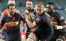 Pieter-Steph du Toit will play at blindside flank against the Blues.  Picture: Twitter/@THESTORMERS